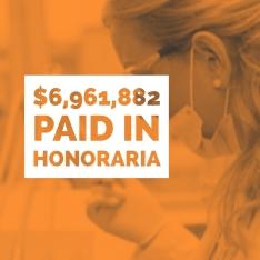 Reckner paid $6,961,882 in honoraria in 2018.