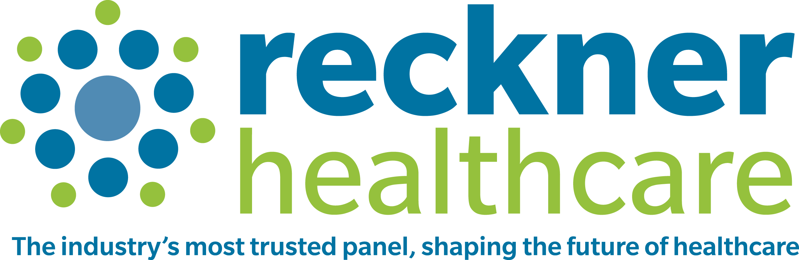 Pictured is the Reckner Healthcare logo.